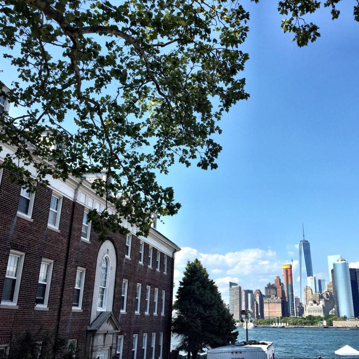 VIew from Governor's Island