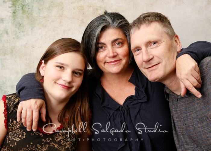 Family Photography by family photographers at Campbell Salgado Studio in Portland, Oregon.