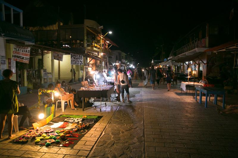 Mellow night life in Zipolite.