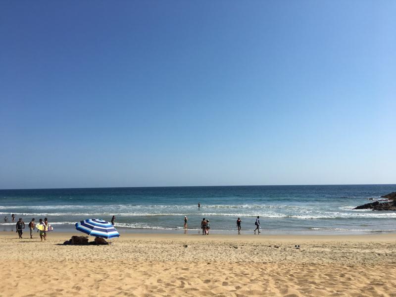 Zipolite Beach in Huatulco, Oaxaca