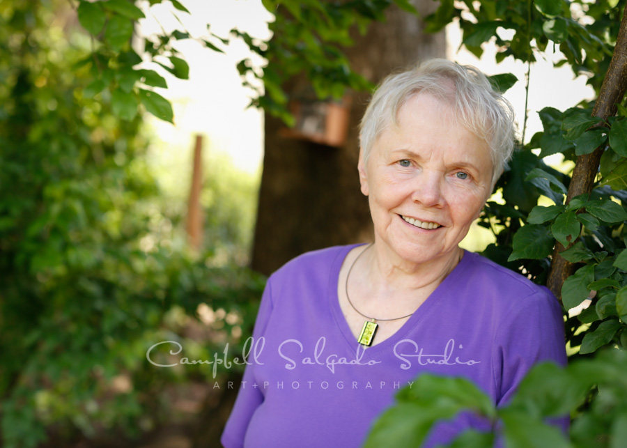 Portrait of woman at vignettes session by portrait photographers at Campbell Salgado Studio in Portland, Oregon.
