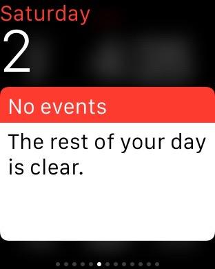 Calendar Glance