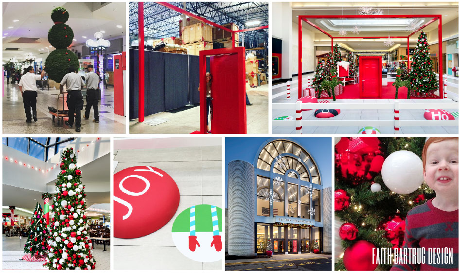Starwood Retail Partners: Revive dated holiday decor + design a magical experience for malls across the country.