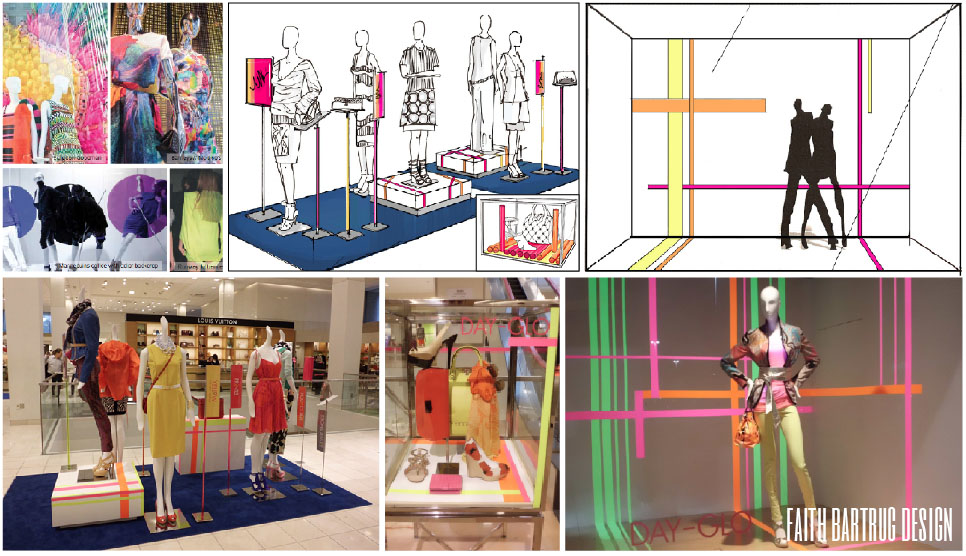 Neiman Marcus: Assist the Visual +Store Design team with visual merchandising initiatives.
