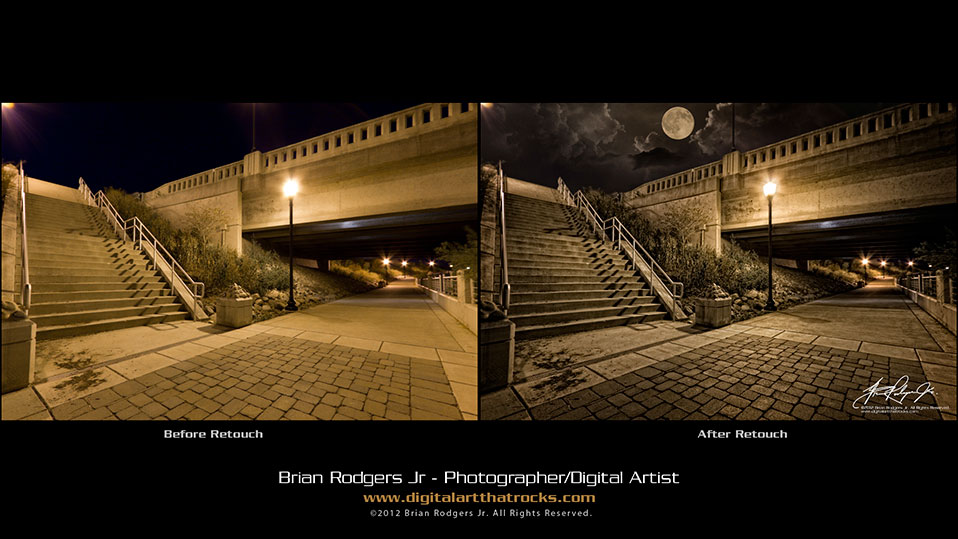 """Under the Bridge""  Photography by Brian Rodgers Jr. Commercial Photographer Digital Artist South Bend, IN"