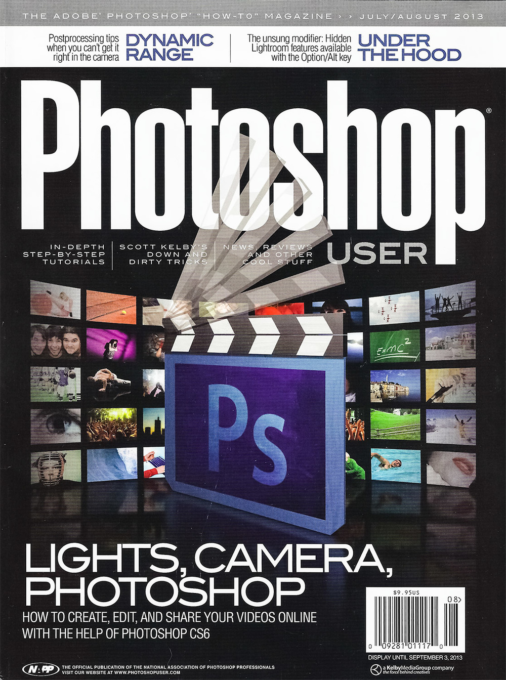Photoshop User Magazine July/August Issue 2013
