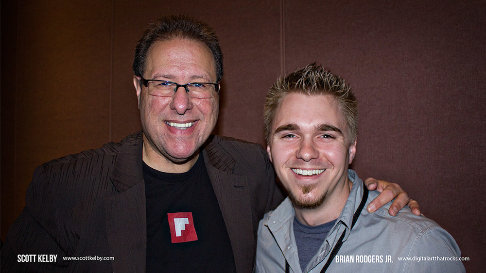 "Brian Rodgers Jr. and Scott Kelby at his ""Shoot Like a Pro Seminar""  - Chicago 2013"