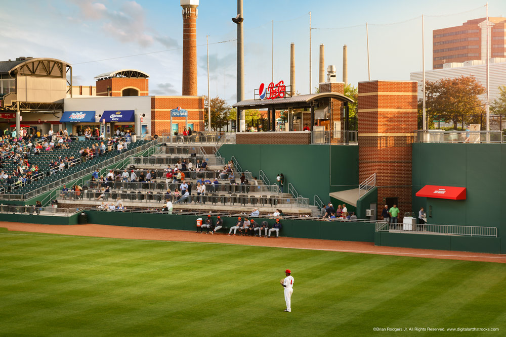 Pepsi Porch Stadium View - Cooley Law School Stadium in Lansing, Michigan
