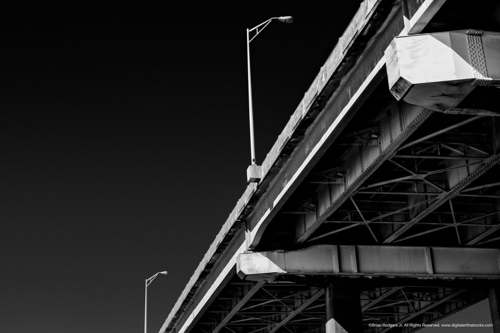 Charleston Fine Art Bridge #1 (Photographed in Charleston, SC)