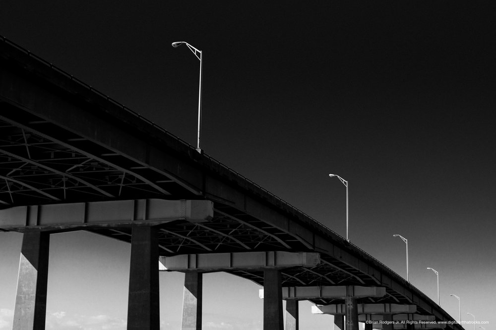 Charleston Fine Art Bridge #3 (Photographed in Charleston, SC)