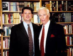 Steve Zarelli with Gene Cernan