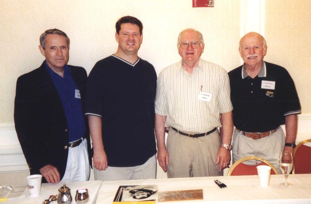 Steve Zarelli with Skylab 3 crew
