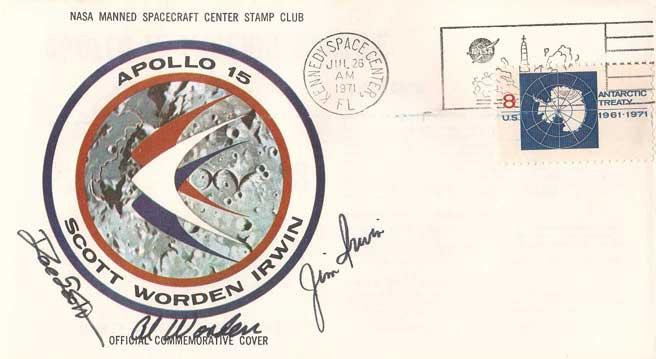 Apollo 15 insurance cover