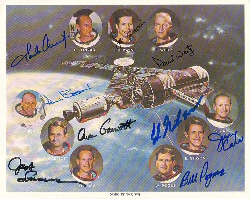 Three Skylab crews