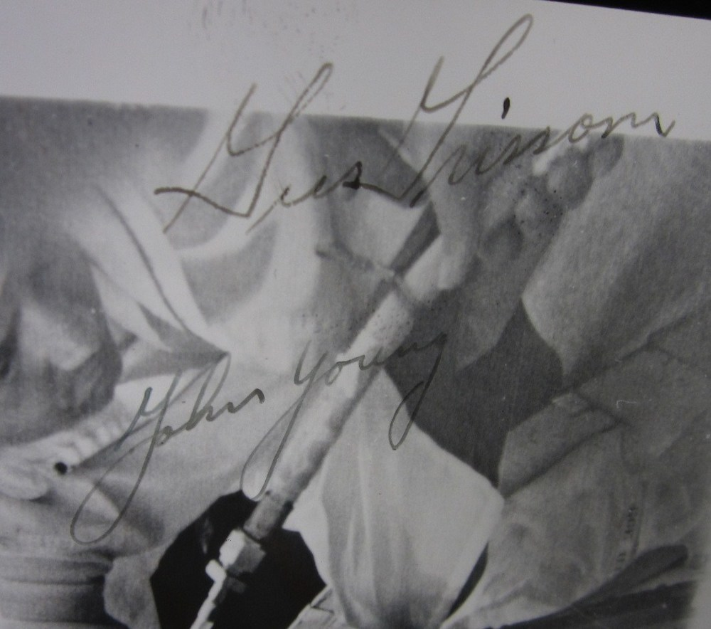 Gus Grissom and John Young forgery