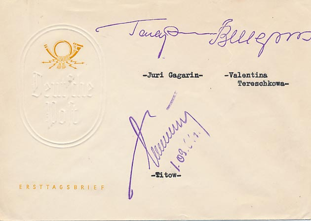 Apparent rubber stamp signatures