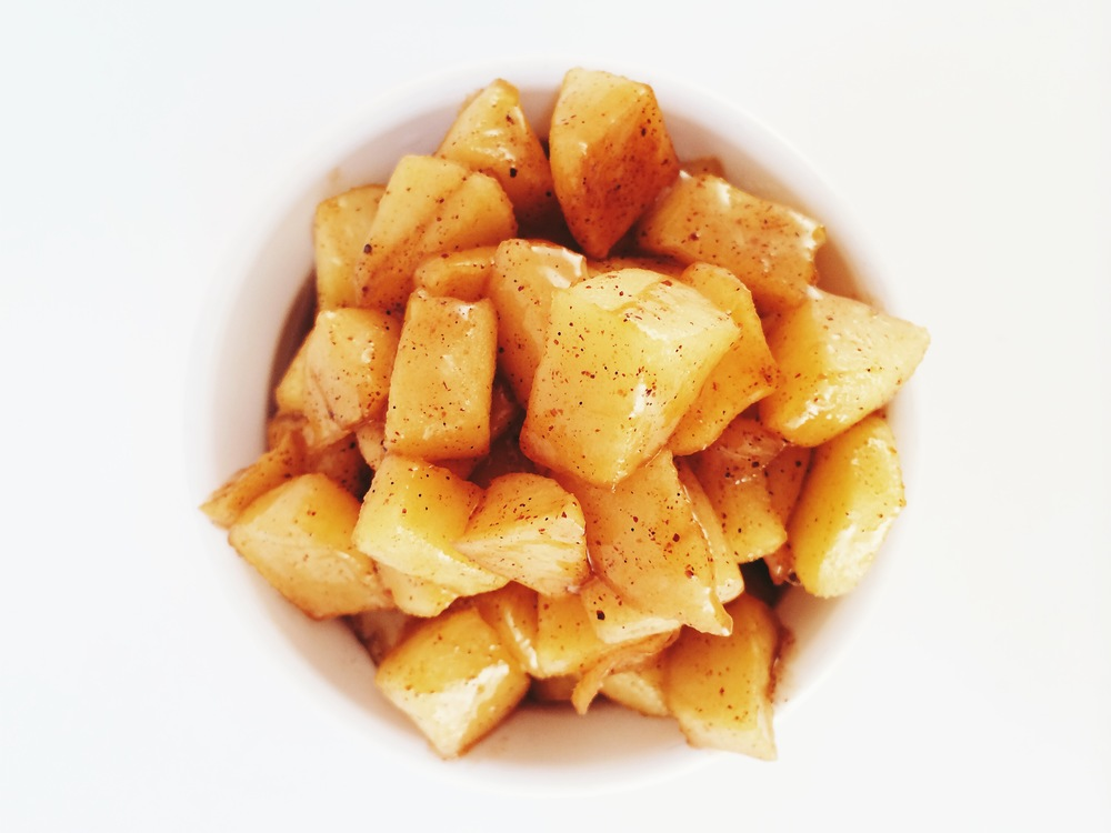 Ginger Caramelized Apples