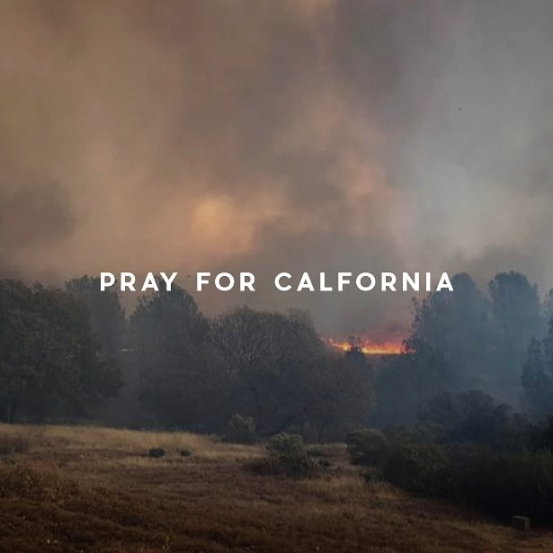 We don't want to dismiss the recent events in California right now. Constant fires, mass shootings and loved ones lost too soon make it easy to lose hope. We urge you to join us in fervent prayer for our state and the people who are hurting. We're praying that He would restore hope and healing to His people and the land. We know God never leaves us nor forsakes us. So we continue to pray into this promise over California.