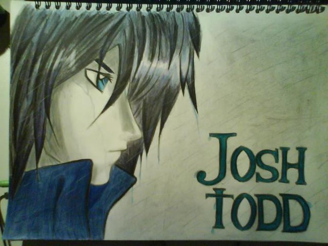Joshua Todd dessiné par Jessica