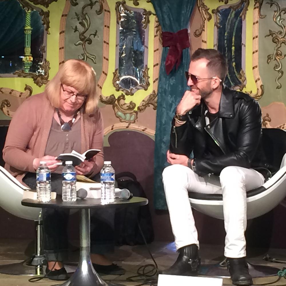Le grand entretien avec Stéphanie Nicot, la directrice artistique du festival, qui a lu des extraits du Cas Jack Spark, d'Animale et de Tambours dans la nuit