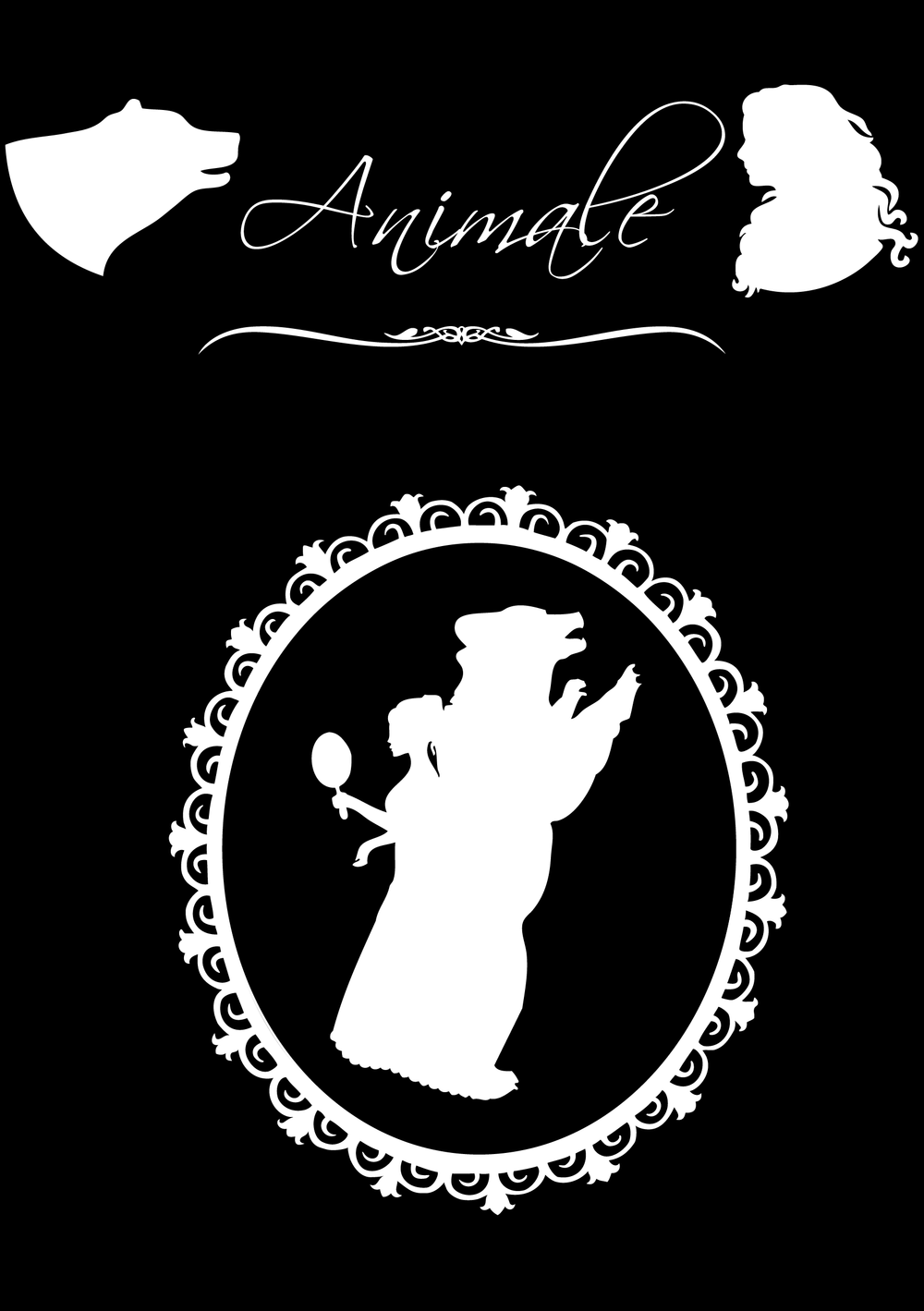 A l'occasion des rencontres on m'a remis un superbe album inspiré d'Animale, dans lequel j'ai aussi glissé d'autres oeuvres offertes par les lecteurs pendant le festival, comme ce somptueux médaillon réalisé par Sara