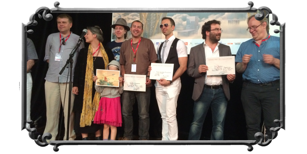 Grand Prix de l'Imaginaire Jeunesse award ceremony in Etonnants Voyageurs book festival