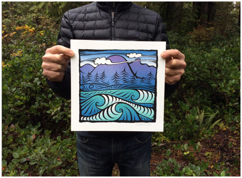 Clayoquot Sound prints