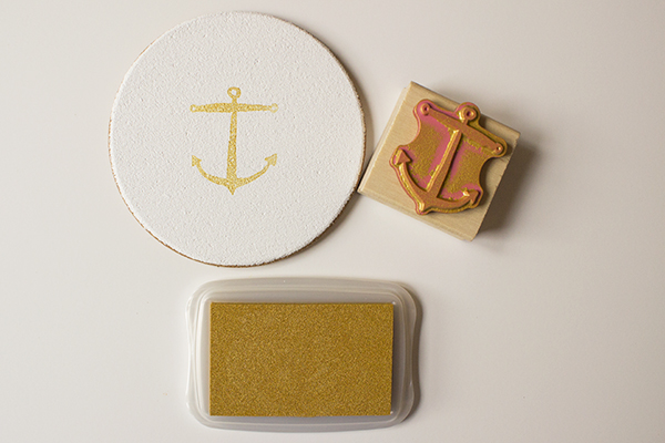 Anchor Coasters DIY 3