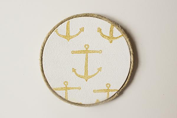 Anchor Coasters DIY 7