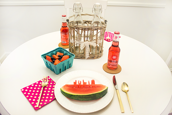 Watermelon-Place-Setting-Table