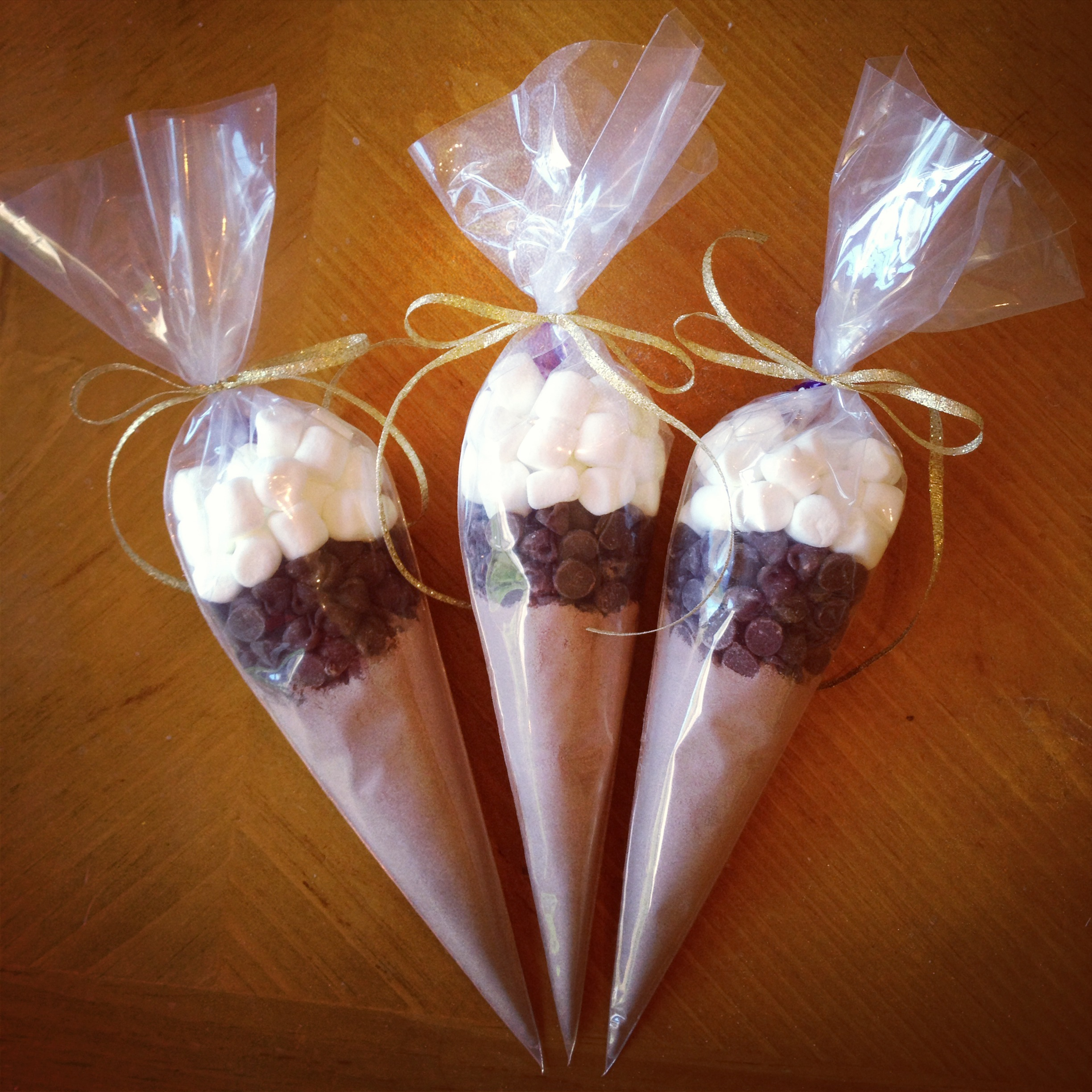 Holiday Series Diy Hot Cocoa Cones Simply Jessica Marie