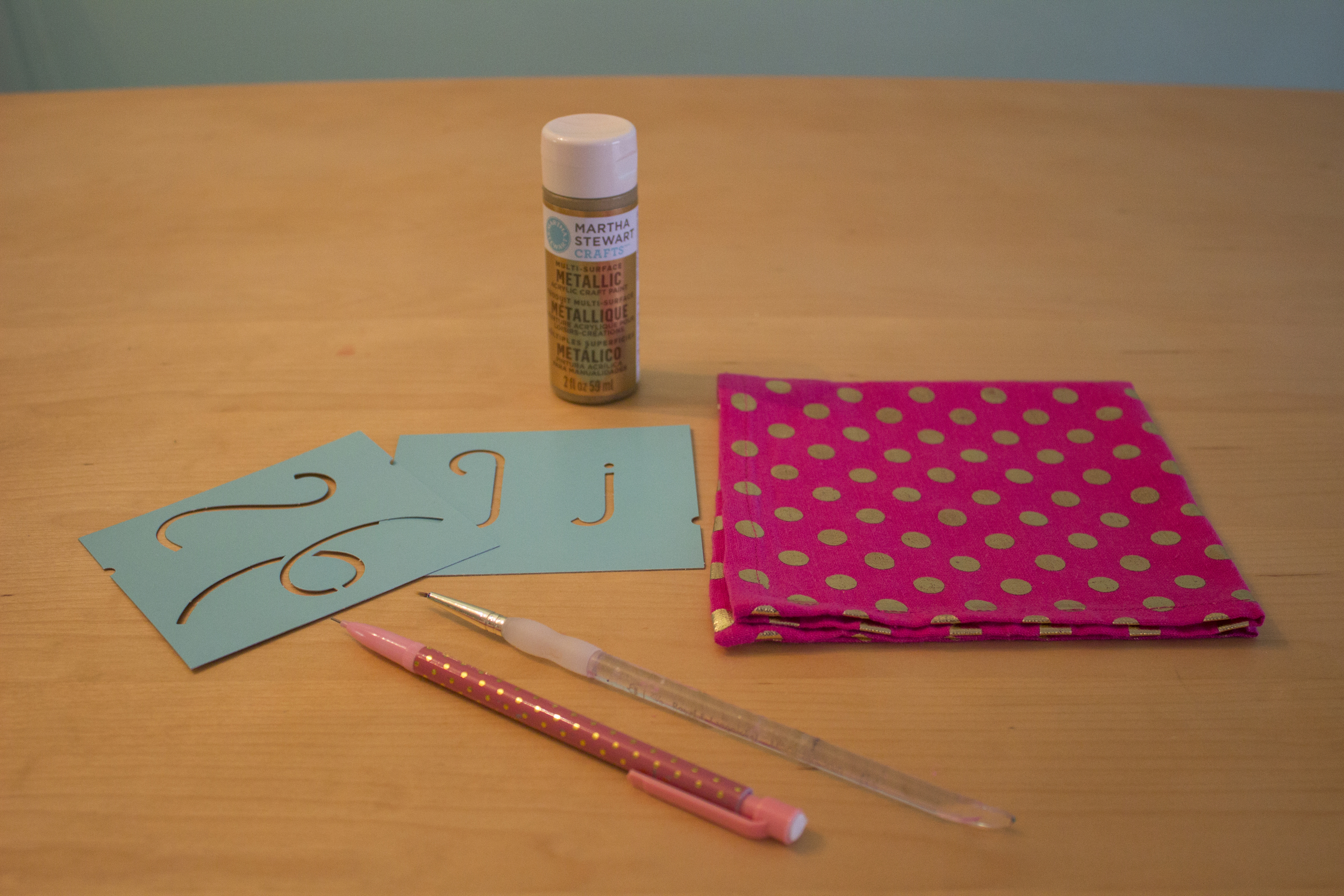 Monogrammed Napkin Supplies