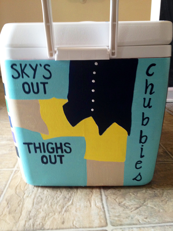 Cooler- Chubbies