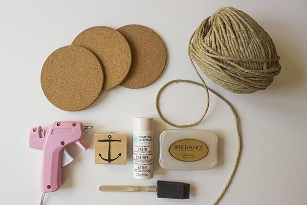 Anchor Coasters DIY 1