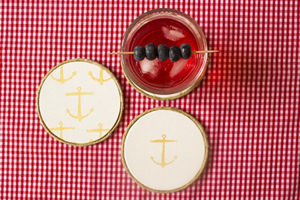 Anchor Coasters DIY 8