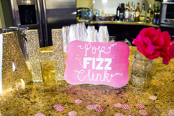 Amber Housley Inspired Cocktail Party Bar
