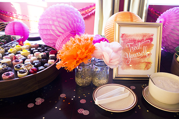 Amber Housley Inspired Cocktail Party Sweets Table
