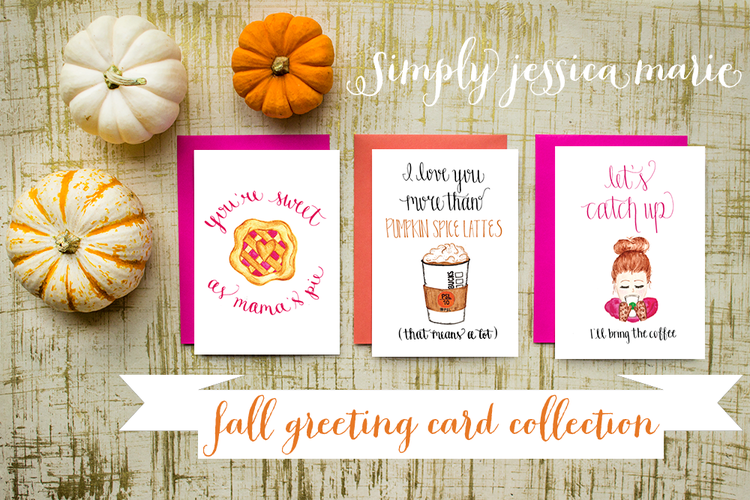 Fall greeting card collection simply jessica marie simply jessica marie fall greeting cards collection m4hsunfo