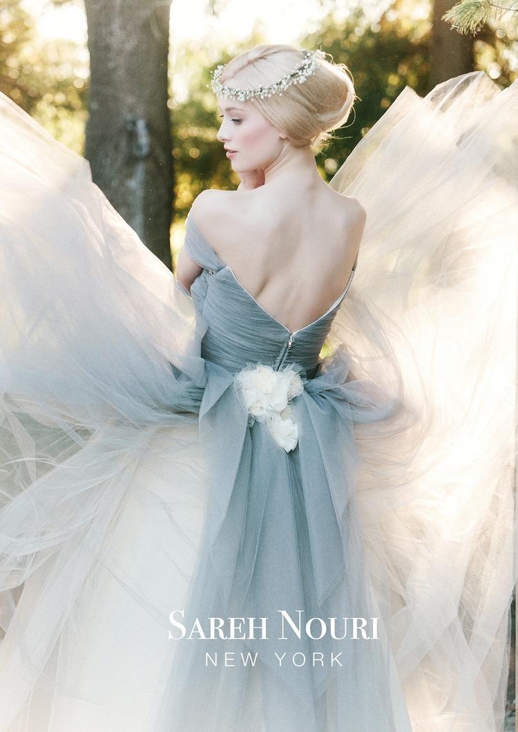 Sareh Nouri Bridal Fall 2014 Collection Marie Antoinette