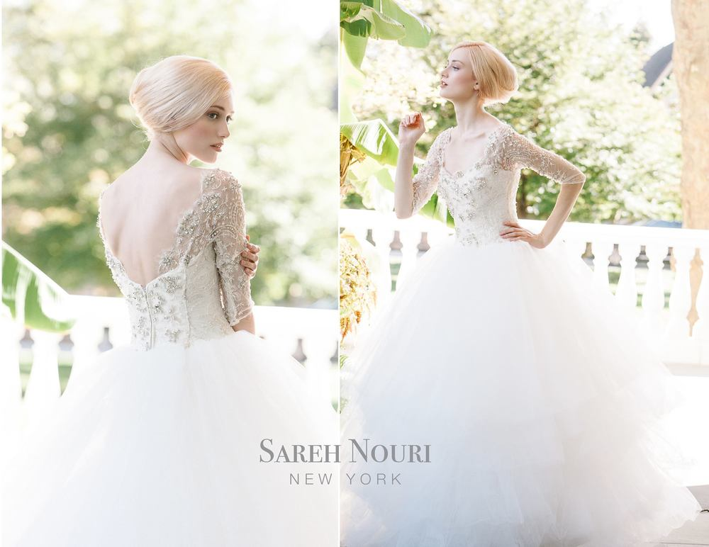 Sareh Nouri Bridal Fall 2014 Collection Ziba | Simply Jessica Marie Wedding Wednesdays
