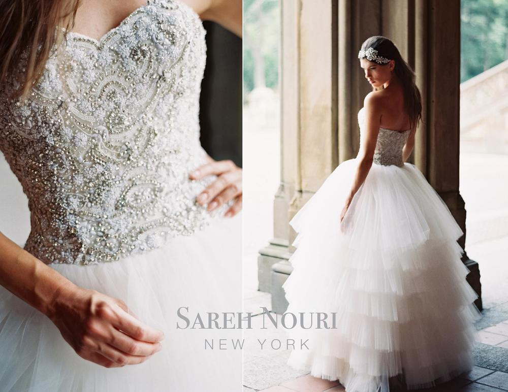 Sareh Nouri Bridal Fall 2014 Collection Lilly | Simply Jessica Marie Wedding Wednesdays