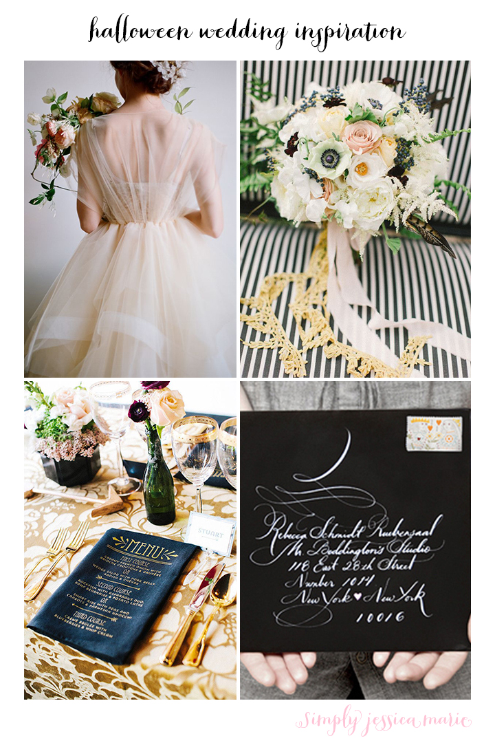 Halloween Wedding Inspiration | Simply Jessica Marie