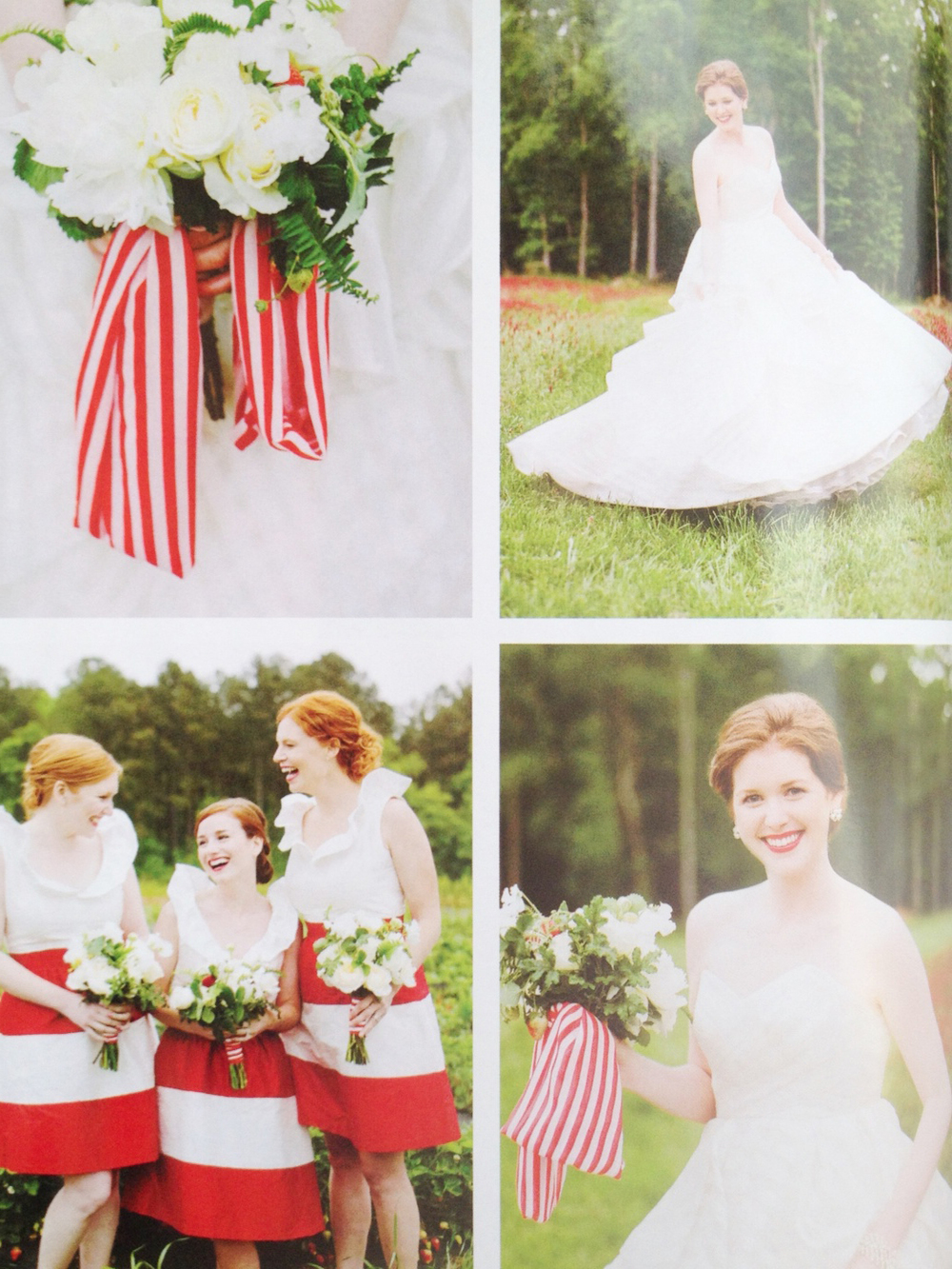 Berry Bliss Editorial Shoot | Southern Weddings V6