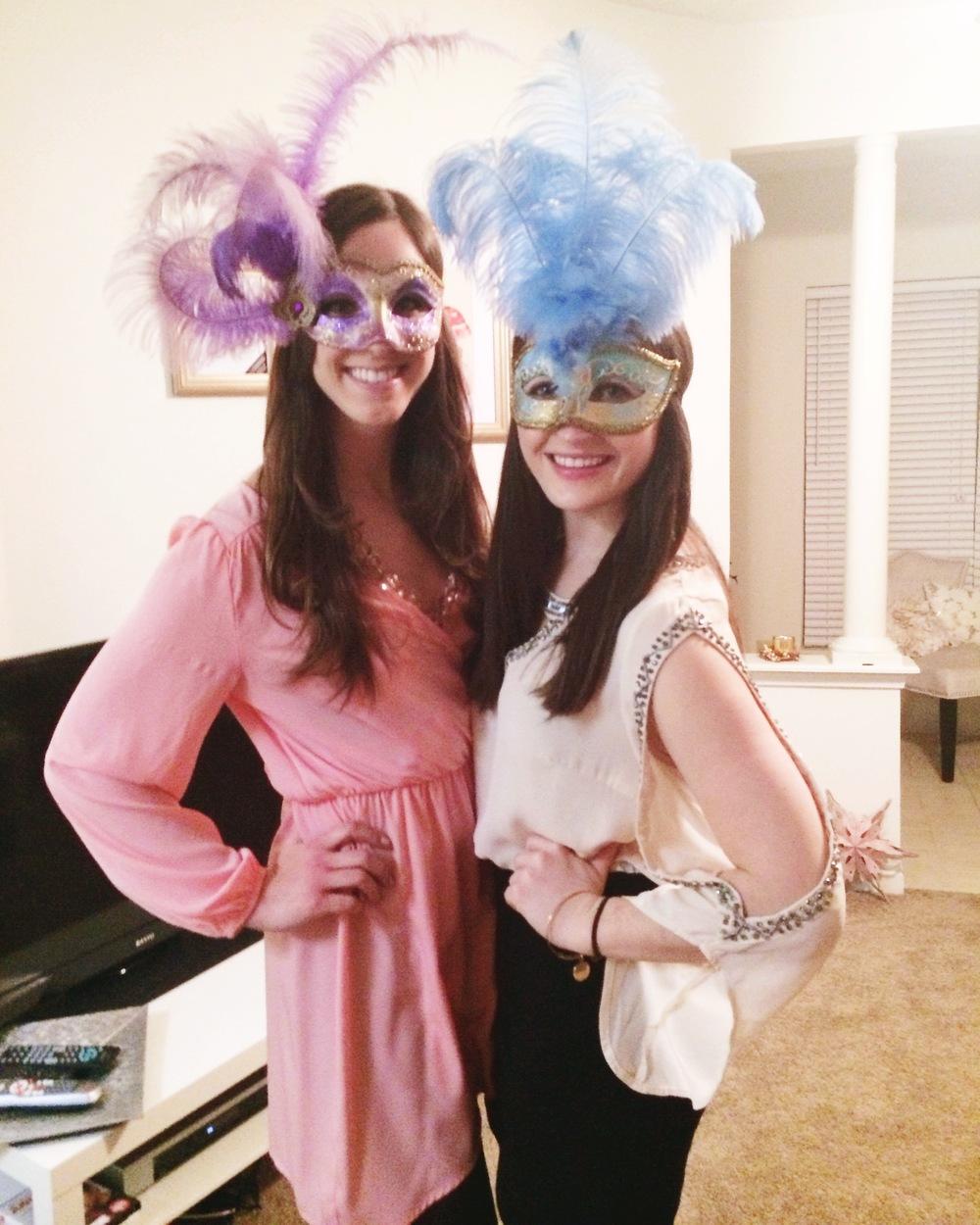 Mistletoe Masquerade | Simply Jessica Marie