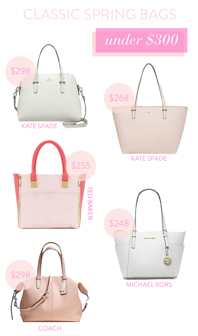 Classic Spring Bags Under $300 | Simply Jessica Marie