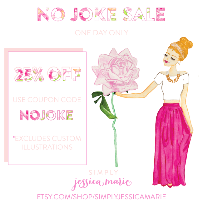 Simply Jessica Marie No Joke Sale