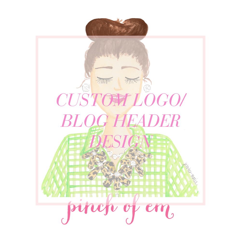 Custom Logo and Blog Header Design by Simply Jessica Marie