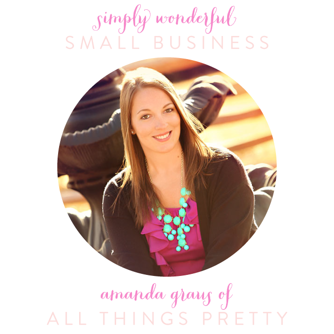 Simply Wonderful Small Business | All Things Pretty