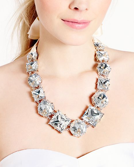 Kate Spade Crystal Kaleidoscope Necklace