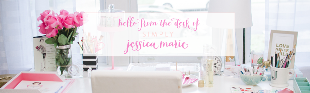 Simply Jessica Marie Mailing List Sign Up